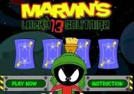 Marvin's Lucky 13 Solitaire