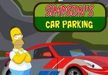 Aparcando el coche de los Simpson