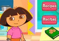 Cocinando en la cocina de Dora