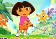 Mini golf con Dora la exploradora