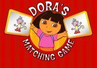 El juego de las parejas de Dora la Exploradora