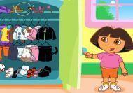 El gran armario de ropa de Dora
