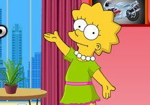 Vestir a Lisa Simpson