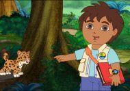 Diego en la selva africana