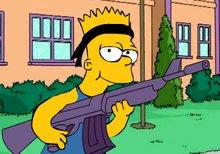 Rambo Bart Simpson