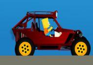 Bart Simpson Buggy Car