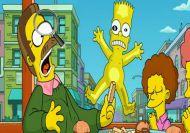 Buscando letras con los Simpson