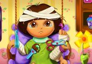 Dora y su recuperación en el hospital