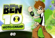 Ben 10 en el campeonato de motos