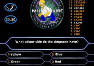 Los Simpsons: Quién quiere ser millonario en inglés