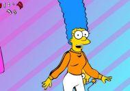 Vestir a Marge Simpson