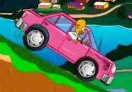 Homer's Donut Run