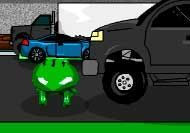 3D Frogger Game