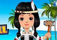 Muñeca nativa americana