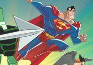 La academia de entrenamiento de la Liga de la Justicia: Superman