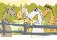 Coro de caballos