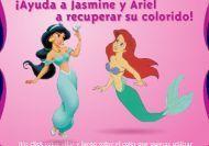Colorea a las princesas