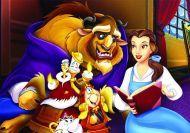 Juego de puzzle de la Bella y la Bestia