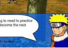 Naruto's Kunai Training Game