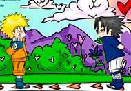 SasuNaru Kissing Game! - Besar a Naruto