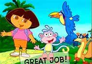 Dora Puzzle de división