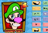 Muggin it up - Recrea las caras de Mario