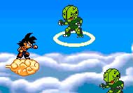 Dragon Ball Z: Defensa en la nube kinton