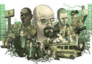 Puzzle de caricatura de Breaking Bad