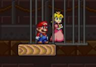 Super Mario Bros salvando a la princesa Peach